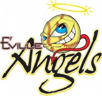 Angels softball logo